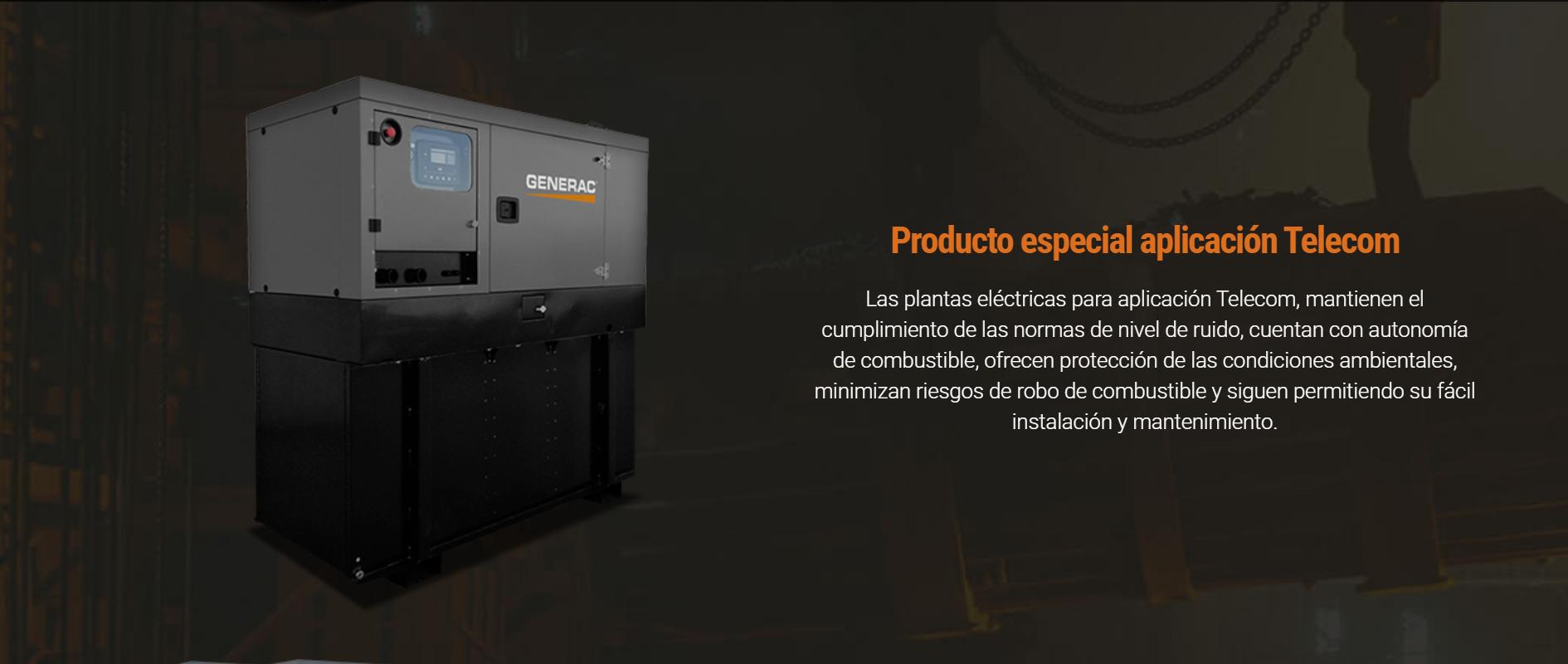 Producto especial aplicación Telecom
